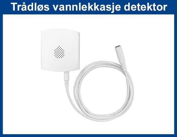 trådløs vannlekkasje detektor