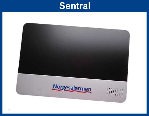 Norgesalarmen sentral