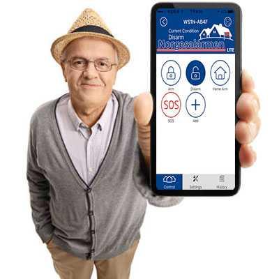 Norgesalarmen LiTE App